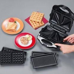 [TIROSS] Lò nướng điện (máy làm bánh) 3 in 1 tiross TS-513