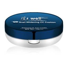 Kem phấn trang điểm Snail Whitening CC Cushion (gồm lõi thay thế)