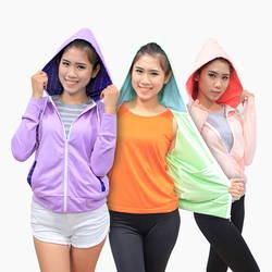 Bộ 3 áo khoác nữ chống tia UV Kisetsu (2 legging + 3 áo thun)