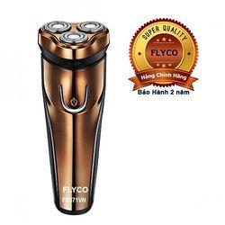 FLYCO-Máy cạo râu 3 lưỡi Flyco + 1 máy tỉa lông mũi