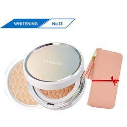 Kem phấn nền dưỡng trắng kèm lõi thay thế Bb Cushion Whitening Ex N13 15G*2 (Neutral - màu trung tính)