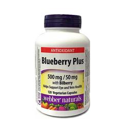 Webber Natural_02 hộp (120 viên/hộp) Viên uống chiết xuất quả Việt Quốc Bluberry + 02 tuýp liền sẹo