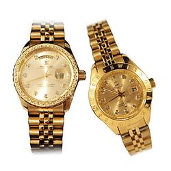 Đồng hồ cao cấp SWISS GUARD mạ vàng 24K cho Nam/Nữ
