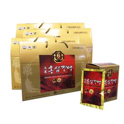 CKD_Bộ 4 hộp (3+1) (120 gói) Hồng sâm nước 6 năm tuổi ( Tặng 01 lọ  mật ong)